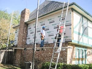 Hardieplank Siding and Windows Replacement in Houston